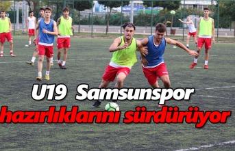 U19  Samsunspor hazırlıklarını sürdürüyor