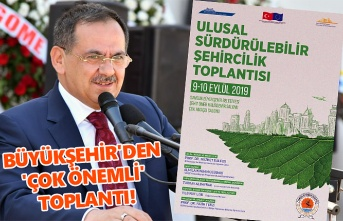 Ulusal Sürdürülebilir Şehircilik Toplantısı Samsun'da yapılıyor