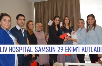 Liv Hospital Samsun 29 Ekim'i kutladı