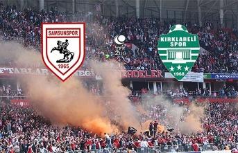 Samsunspor Kırklarelispor maçı canlı yayın var mı, saat kaçta?