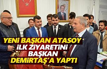 Başkan Atasoy Demirtaş'ı Ziyaret Etti