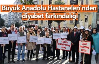 Büyük Anadolu Hastaneleri'nden diyabet farkındalığı