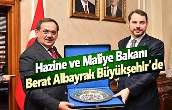 Hazine ve Maliye Bakanı Albayrak, Büyükşehir'de