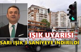 Samsun Büyükşehir Ulaşım Dairesi'nden trafik ışığı açıklaması!