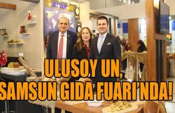 Samsun'un ihracat şampiyonu Ulusoy Un, Samsun Gıda Fuarı'nda