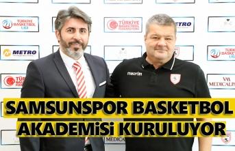 Samsunspor Basketbol Akademisi kuruluyor