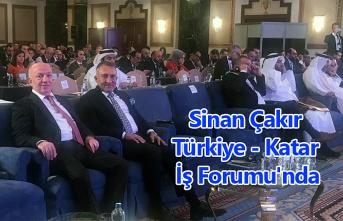 Sinan Çakır Türkiye - Katar İş Forumu'nda