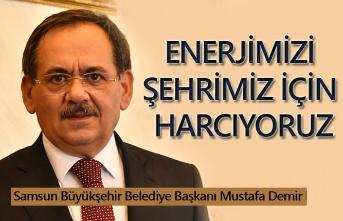 Başkan Demir: Projeler 2020'de start alacak