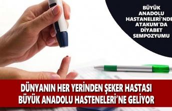 Büyük Anadolu Hastaneleri'nden Atakum'da Diyabet Sempozyumu