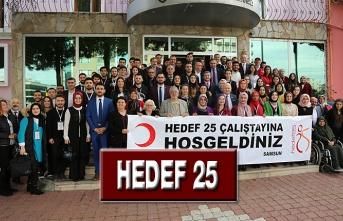 'Hedef 25' Çalıştayı Samsun'da Renkli Geçti