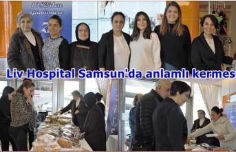 Liv Hospital Samsun'da engelliler günü için anlamlı kermes