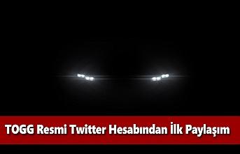 TOGG'un Resmi Twitter Hesabından Yerli Otomobille İlgili İlk Paylaşım