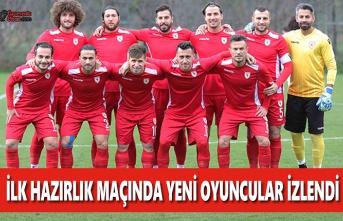Yılport Samsunspor İlk Hazırlık Maçında Berabere Kaldı