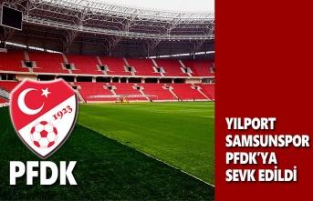 Yılport Samsunspor PFDK'ya Sevk Edildi