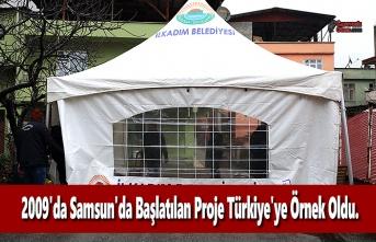 2009'da Samsun'da Başlatılan Proje Türkiye'ye Örnek Oldu.