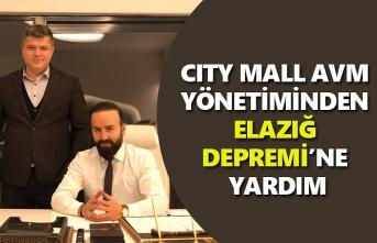 City Mall AVM'den Elazığ'a deprem yardımı