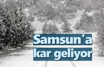 Meteoroloji uyardı Samsun'a kar geliyor!