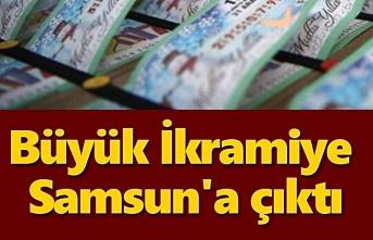 Milli Piyango Büyük İkramiye Samsun'a çıktı!