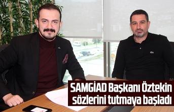 SAMGİAD'dan Samsunspor'a büyük destek