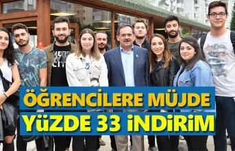 Samsun'da öğrenciler ulaşımdan indirimli yararlanacak