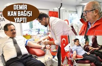 Samsun Haber - Büyükşehir Belediyesi'nden Kan Bağışı Kampanyası