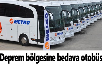 Samsun Haber - Metro Turizm'den deprem bölgesine bedava otobüs