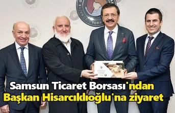 Ticaret Borsası'ndan Başkan Hisarcıklıoğlu'na ziyaret
