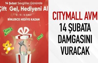 Citymall AVM'de 14 Şubat'ta hediye yağmuru var!