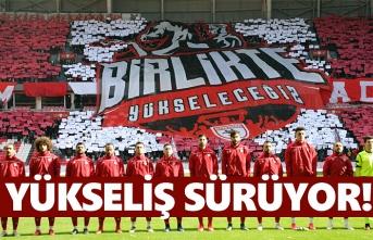 Samsunspor 55 Plakayı Puan Durumuna yazdırdı