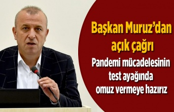 Başkan Habip Muruz'dan açık çağrı : Vakit geçmiş sayılmaz