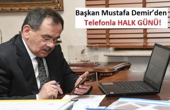 Başkan Mustafa Demir'den Koronavirüs Önlemi!