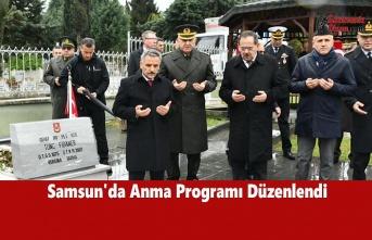 Samsun'da 'Çanakkale Zaferi'nin 105. Yıldönümü' Anma Programı