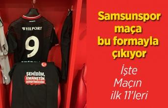 Samsunspor İnegölspor maçına bu formayla çıkıyor, işte maç kadrosu
