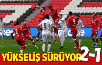 Yılport Samsunspor Zonguldak Kömürspor maç sonucu 2-1