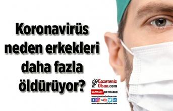 Koronavirüs neden erkekleri daha fazla öldürüyor?