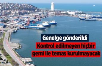 Samsun'da dahil denize kıyısı olan 28 ile genelge gönderildi