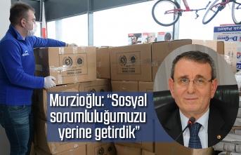Samsun TSO'dan bin 300 aileye gıda yardımı yapıldı