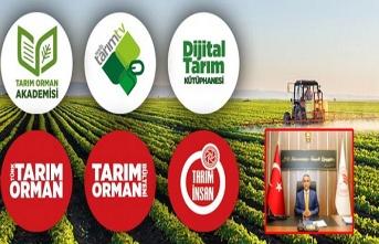Tarım Orman Akademi ile Çiftçi, Üretici istediği bilgiye ulaşabilecek!