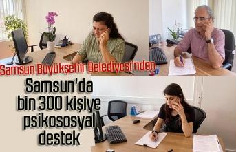 Samsun'da şu ana kadar kaç kişi psikolojik koronavirüs desteği aldı?