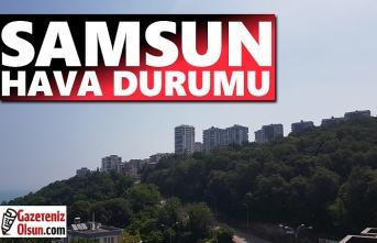 Samsun Hava Durumu, 23 Haziran Salı Samsun'da Hava Nasıl Olacak