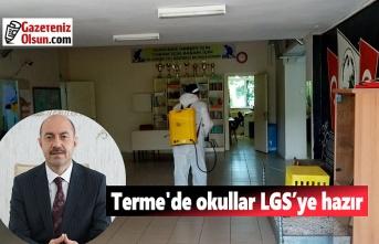 Terme'de okullar LGS'ye hazır