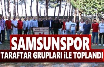 Başkan Yıldırım, Samsunspor Taraftar Grupları ile bir araya geldi