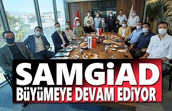 Samgiad'a 9 Yeni Üye, Samgiad Büyümeye devam ediyor