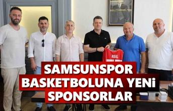 Samsunspor Basketboluna Yeni sponsor