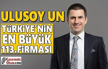 Ulusoy Un, Türkiye'nin En Büyük 113.Firması