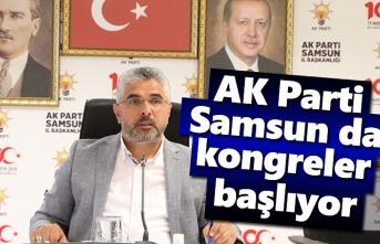 AK Parti Samsun da kongre tarihleri belli oldu