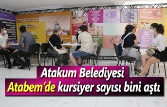 Atakum Belediyesi Atabem kursiyer rekoruna koşuyor