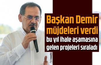 Başkan Demir projelerini anlattı, otopark sorunu çözülecek