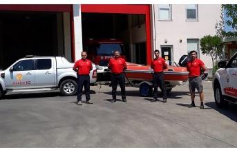 Giresun sel bölgesine iş makinesi ve personel desteği - Samsun Haber