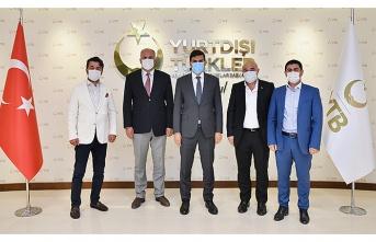 Karadeniz Rumeli Dernekleri Federasyonu heyetinden Ankara ziyareti